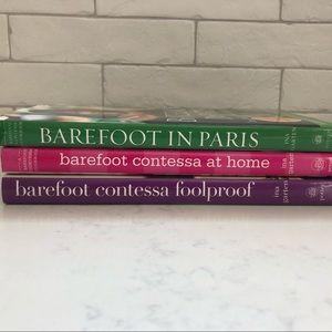 3 Ina Garten Cookbooks